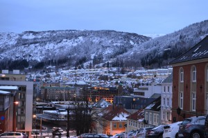Bergen, early winter morning