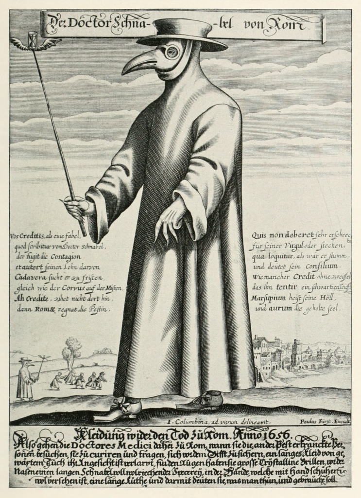 17th-century European 'plague doctor'